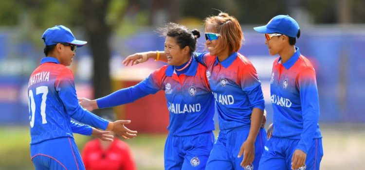 Team Thailand. Image: T20World Cup