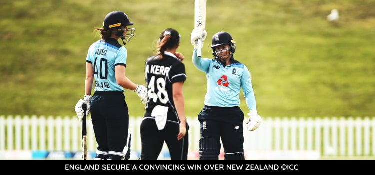 England New Zealand Tammy Beaumont Nat Sciver