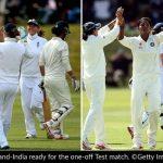 England vs India Test